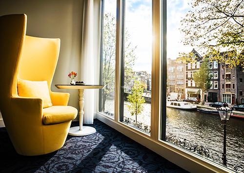 amszterdam-hotelszoba