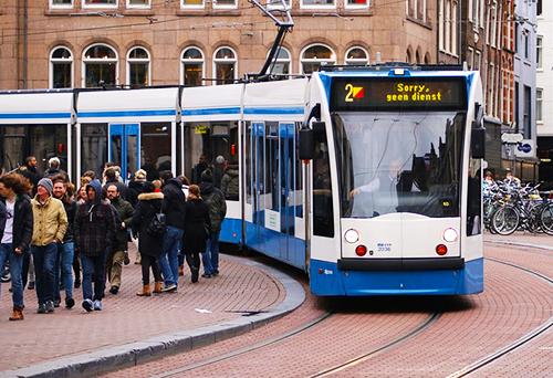 amszterdamban-villamos