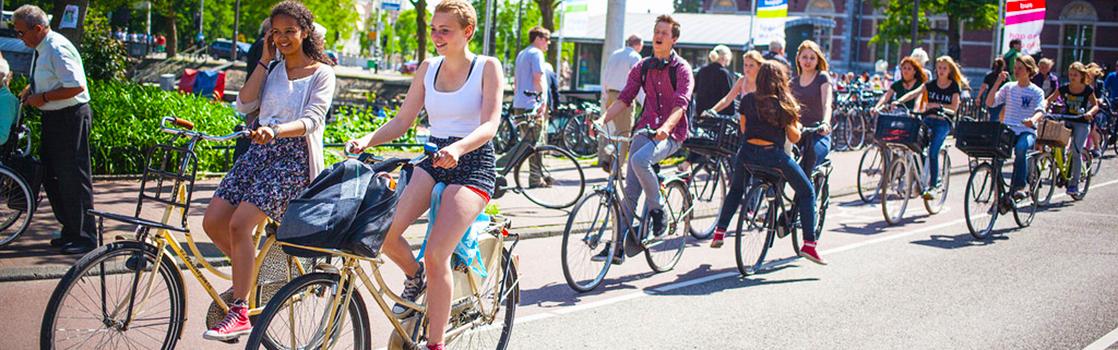 kerékpár amszterdam